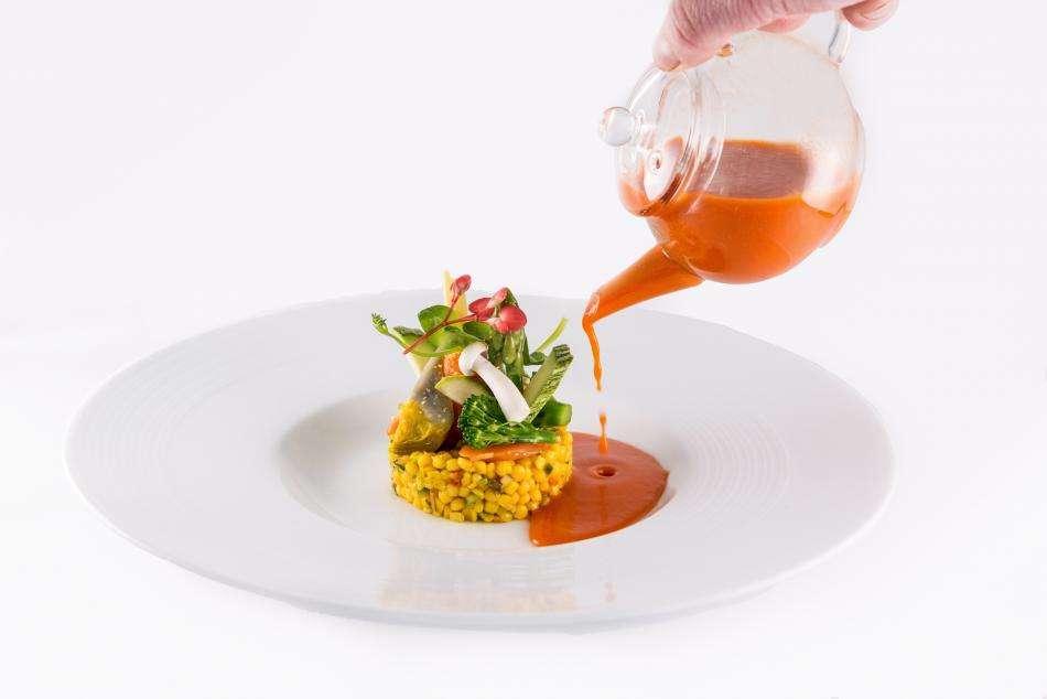Pavillon des Princes - Food