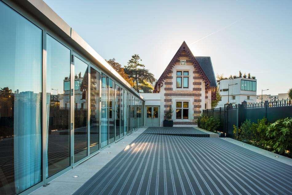 Pavillon des Princes - Terrasse extérieure